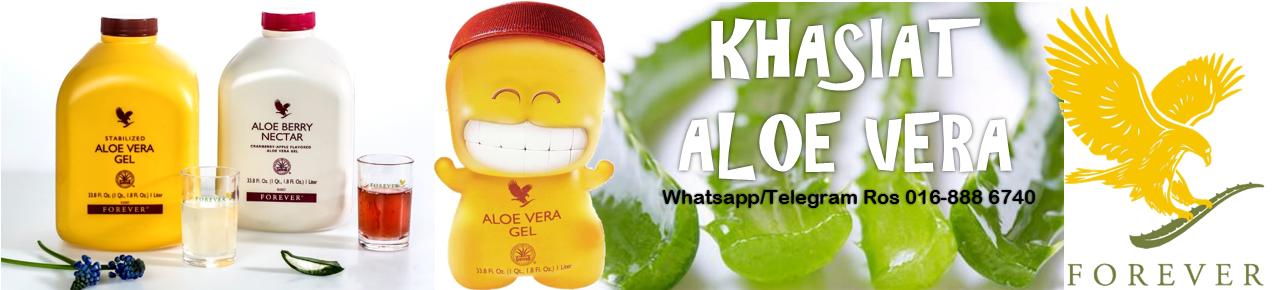 Khasiat Aloe Vera Forever Living - Aloe Vera Forever Living Malaysia