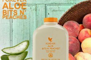 Aloe bits n Peaches Forever Living Malaysia