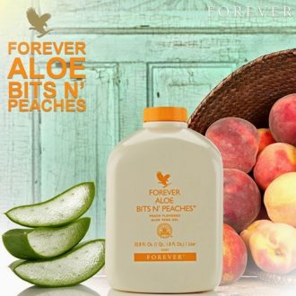 Aloe bits n Peaches Forever Living Malaysia