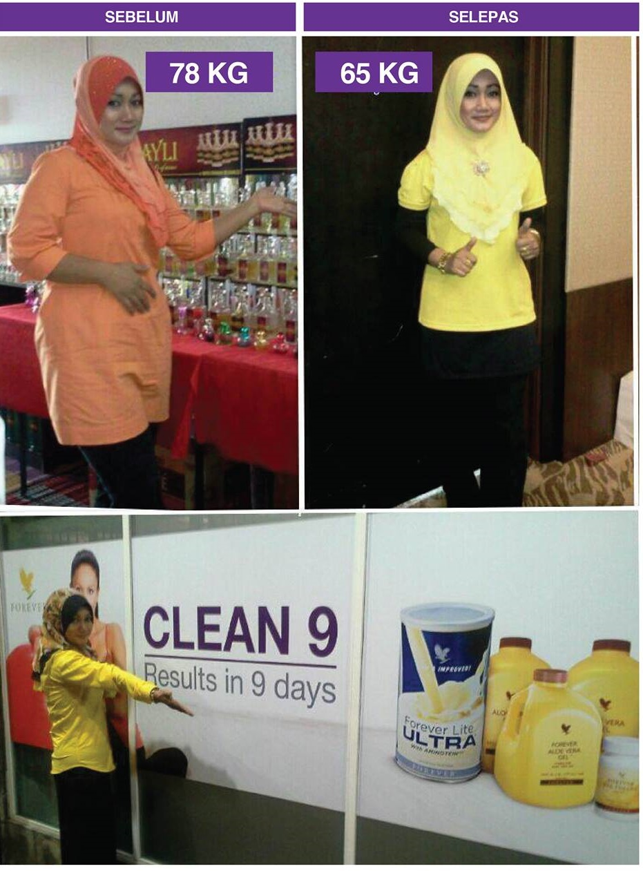 Set Clean 9 Forever Living