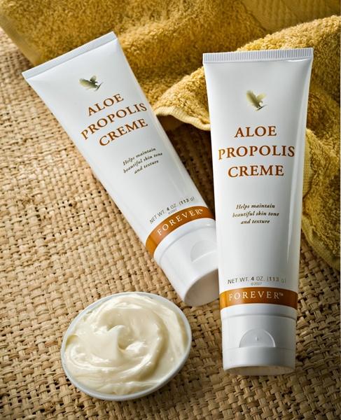 Khasiat Aloe Vera | Forever Aloe Propolis Creme – Krim Aloe Vera & Bee Propolis Untuk Merawat Kulit Bermasalah