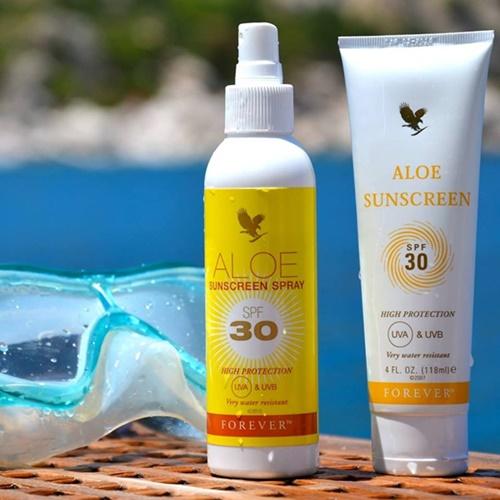 Khasiat Aloe Vera | Forever Aloe Sunscreen Spray – Semburan Pelindung Cahaya Matahari Terbaik!