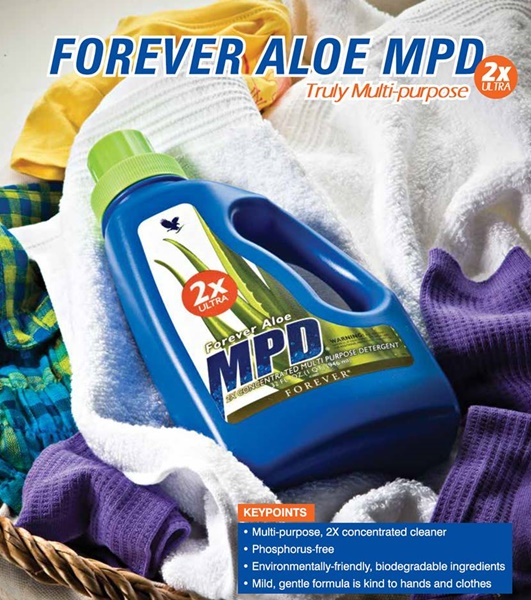 Khasiat Aloe Vera | Forever Aloe MPD – Sabun Pencuci Serba Guna @ Multi Purpose Untuk Pakaian, Cloth Diaper & Kelengkapan Rumah