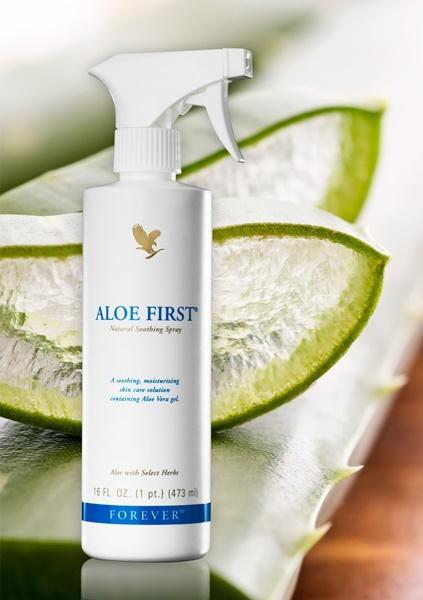 Khasiat Aloe Vera | Forever Living Aloe First – Semburan Aloe Vera Untuk Pertolongan Cemas @ First Aid Dalam Botol