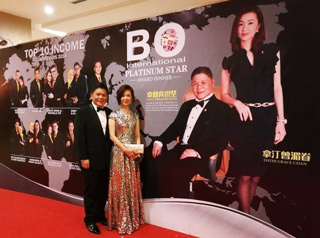 Platinum Star Achiever Award Dinner