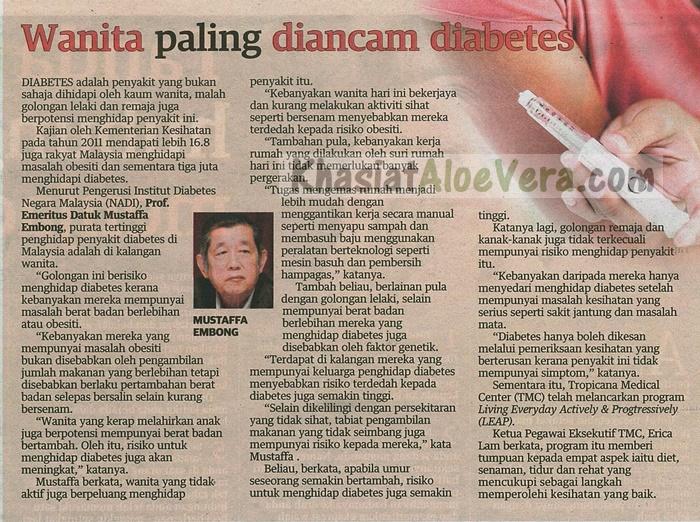 Penyakit Kencing Manis - Diabetes