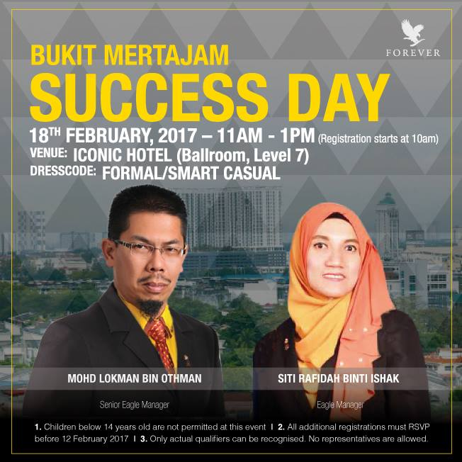 Success Day | Penyampaian Insentif Semasa Success Day Bukit Mertajam 18 Februari 2017