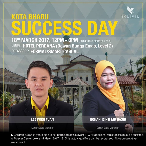 Success Day | Penyampaian Insentif Semasa Success Day Kota Bharu 18 Mac 2017