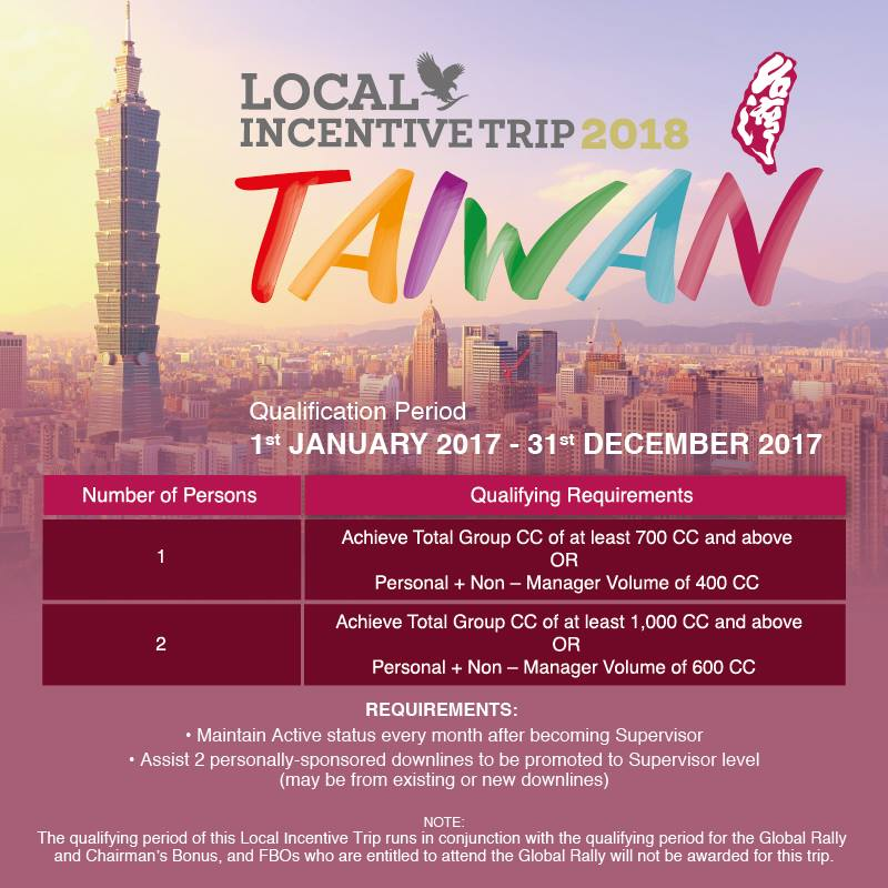 Insentif Forever | Local Trip Incentive 2018 – Taiwan!