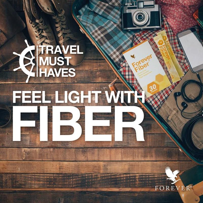 Khasiat Serat & Fiber | Balik Kampung & Melancong Bersama Forever Fiber Untuk Melegakan Masalah Sembelit