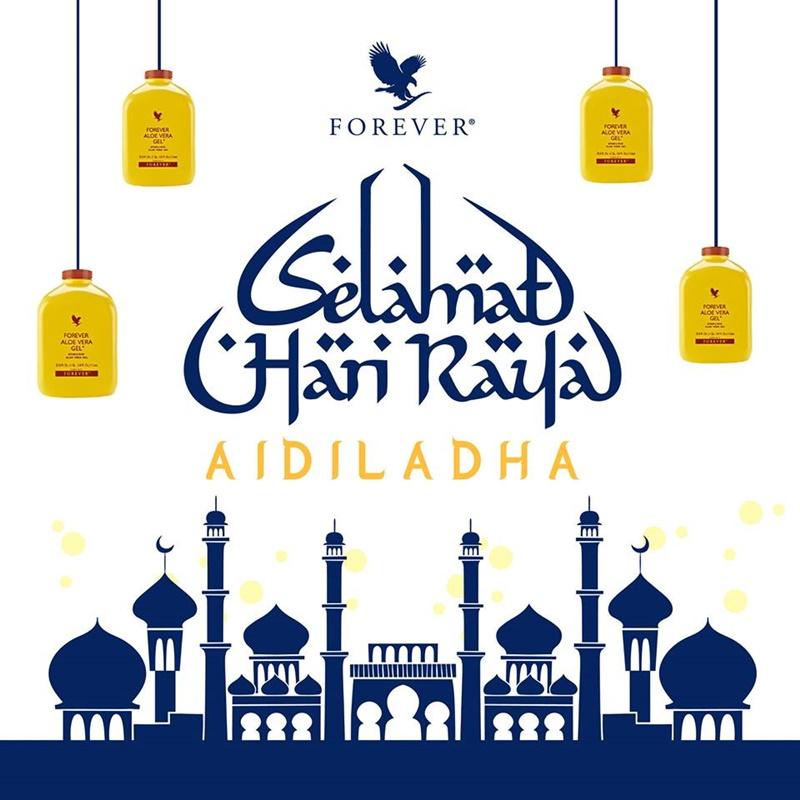 Perayaan Forever | Selamat Hari Raya Aidiladha Daripada Forever Living Products Malaysia