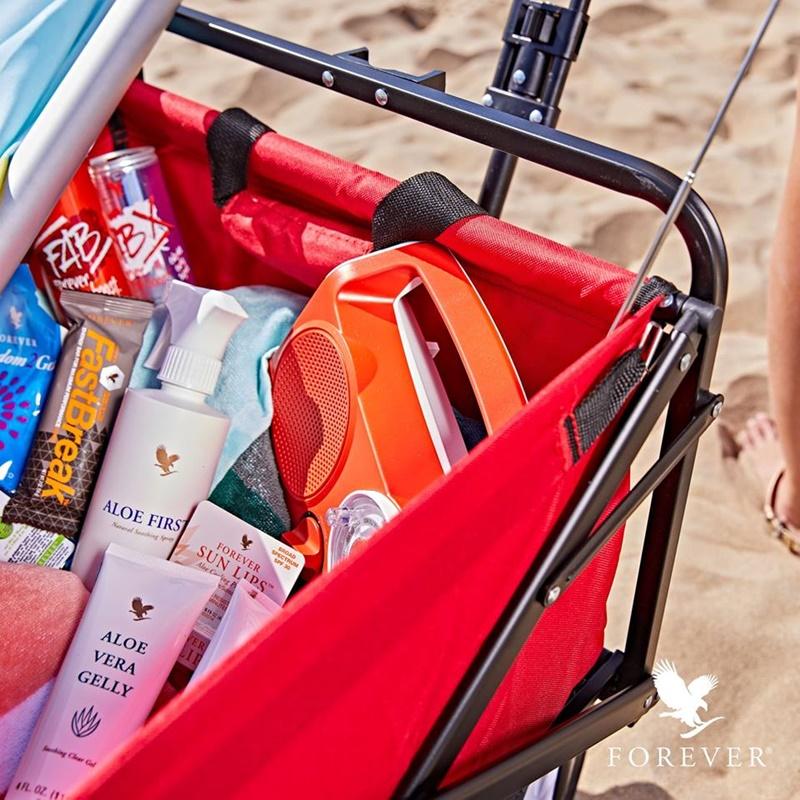 Produk Forever Living | Apakah Produk Yang Wajib Anda Bawa Semasa Bercanda Di Pantai?