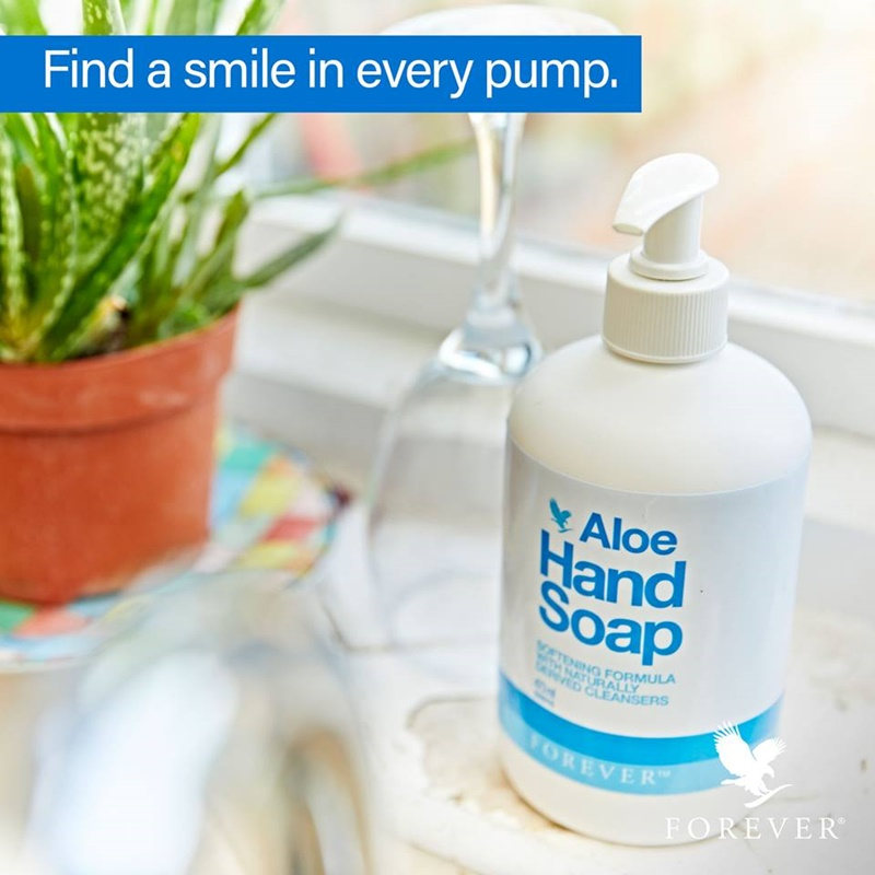 Produk Forever Living | Sabun Pencuci Tangan Forever Aloe Hand Soap Yang Lembut Penuh Kebaikan Aloe Vera