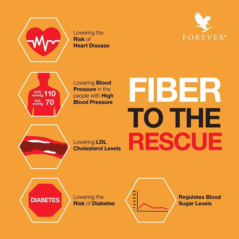Khasiat Serat & Fiber | 5 Kebaikan Serat Untuk Kesihatan Anda