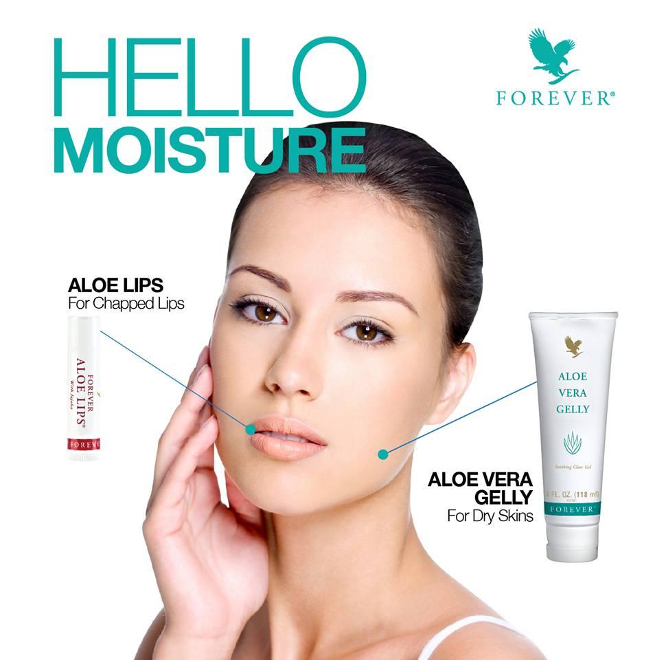 Tips Cantik Forever | Pastikan Kulit & Bibir Anda Sentiasa Lembab Dengan Forever Aloe Lips & Aloe Vera Gelly