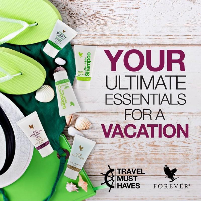 Forever Travel Kit | Set Penjagaan Diri Wajib Bawa Semasa Bercuti