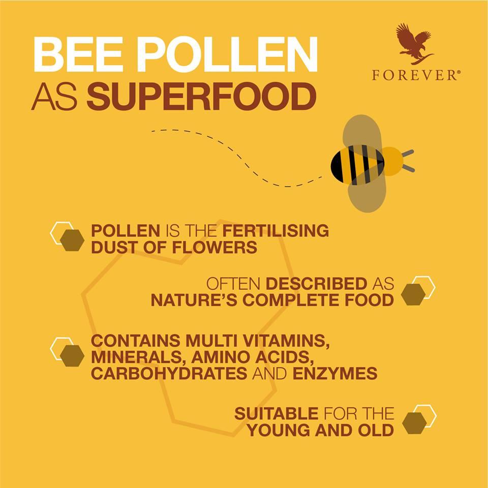 Khasiat Bee Pollen | Manfaat Debunga Lebah Sebagai Makanan Super @ Superfood
