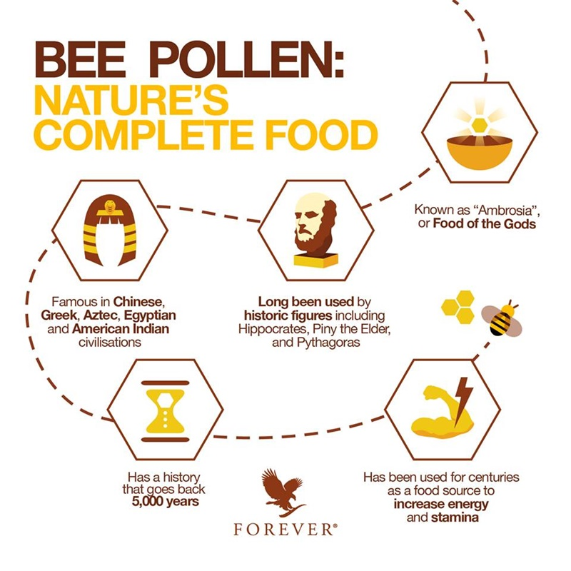 Khasiat Bee Pollen Forever Living Products Malaysia