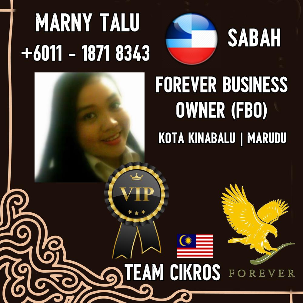 Team Cikros Forever | Agen / Pengedar / Stokis Forever Living Products Sabah – Kota Kinabalu & Kota Marudu