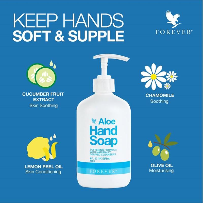 Khasiat Aloe Vera | Manfaat Aloe Vera Dalam Forever Aloe Hand Soap