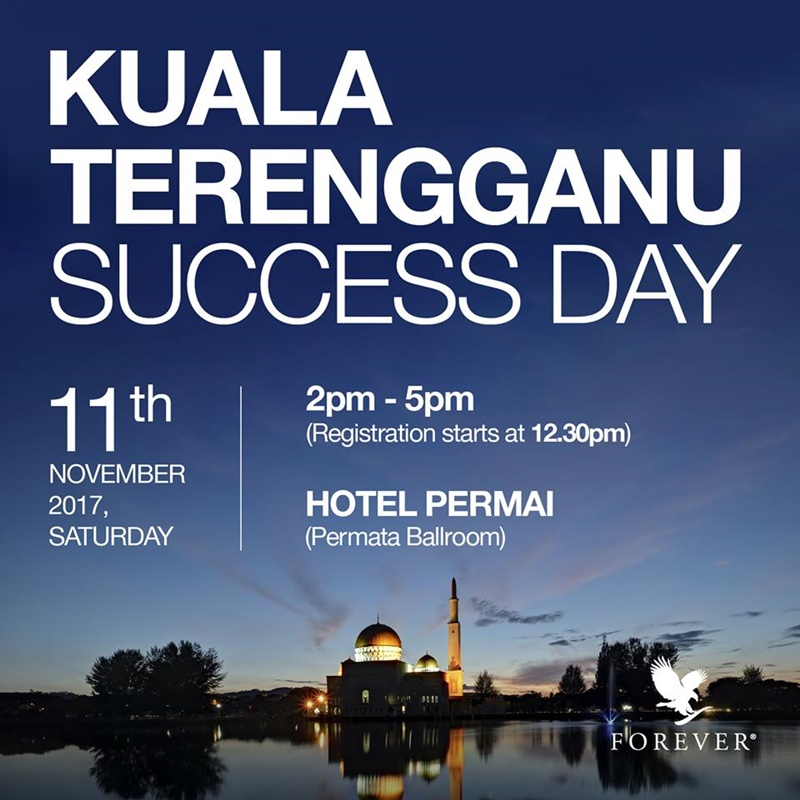 Forever Success Day | Kuala Terengganu Success Day – 11th November 2017